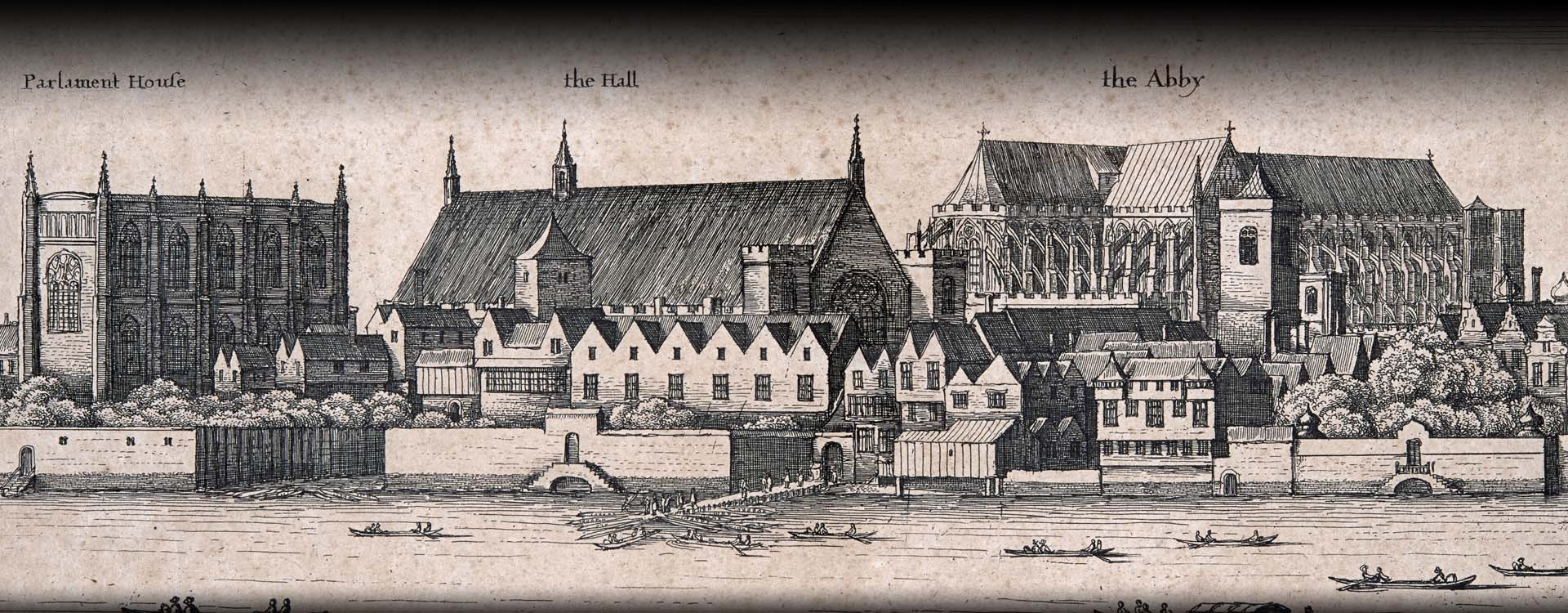 Engraving by Wenceslaus Hollar, c.1647. © Palace of Westminster Collection