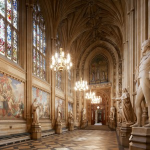 'St Stephen's Hall'. Colour photograph. Estates' Archive, Palace of Westminster. © UK Parliament/Estates Archive.