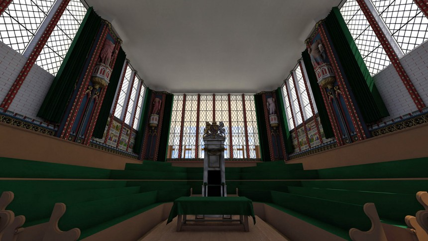 The Stuart Parliaments and the Civil War, c.1604-1649 - 3D visualization