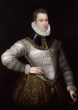 Sir Philip Sidney, unknown artist. Oil on canvas, eighteenth century or later, after an original of c.1576. © The National Portrait Gallery, London, NPG 2096.